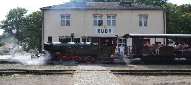 Rudy czyli Zabytkowa Stacja Kolejki Wąskotorowej