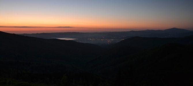 Nasz pierwszy wschód słońca – Malinowska Skała