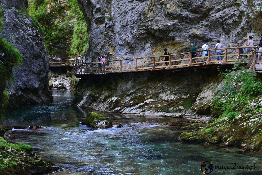 Wąwóz Vintgar - Wąwozy w Słowenii