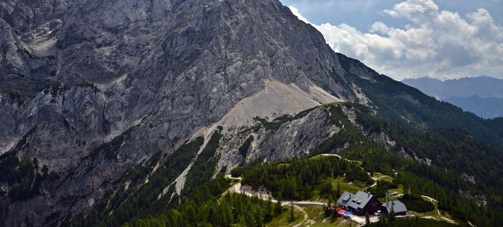 Przełęcz Vrsic i jej atrakcje