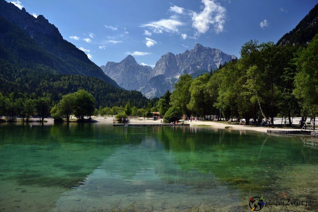 Słowenia co zobaczyć, Jezioro Jasna