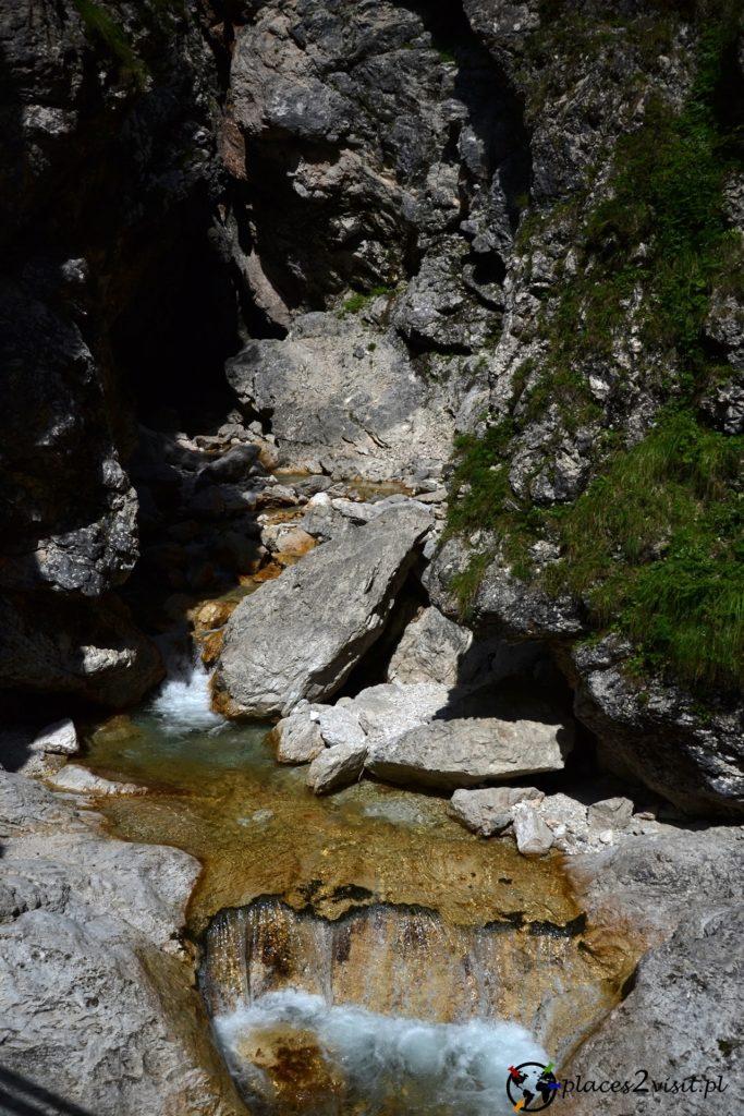 Wąwóz Mlinarica - Wąwozy w Słowenii
