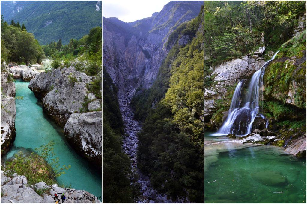 Wielki Wąwóz Soczy, Wodospad Boka, Wodospad Virje