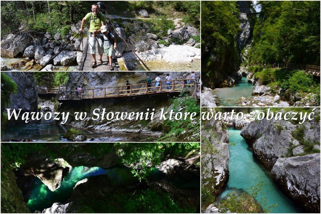 Wąwozy w Słowenii