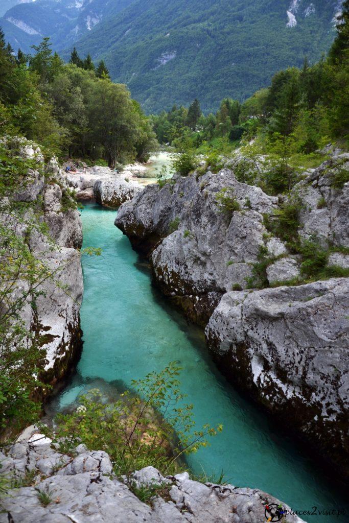 Wielki Wąwóz Soczy - Wąwozy w Słowenii