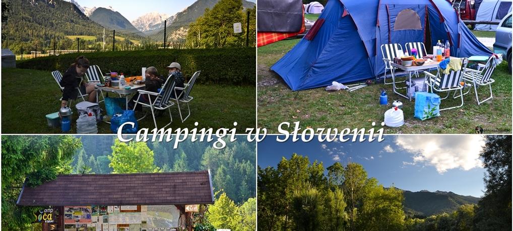 Campingi w Słowenii