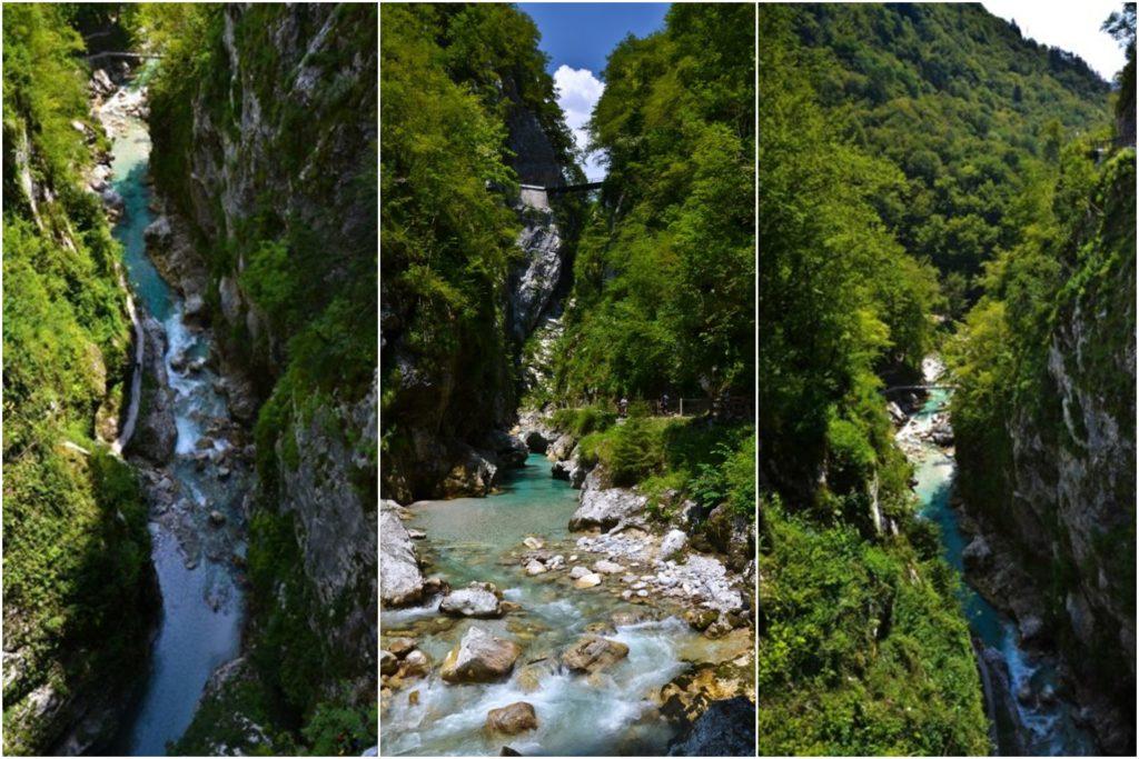 Słowenia co zobaczyć, Wąwóz Tolmin