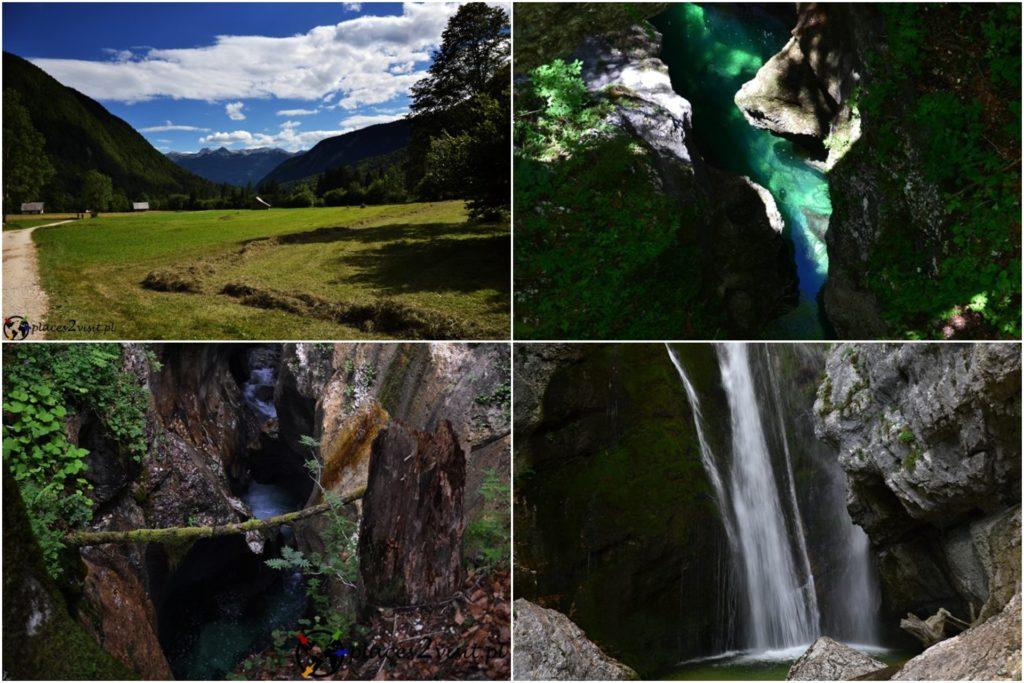 Słowenia co zobaczyć, Dolina Voje i wąwóz Mostnica