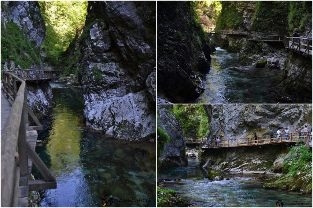 Słowenia co zobaczyć, Wąwóz Vintgar