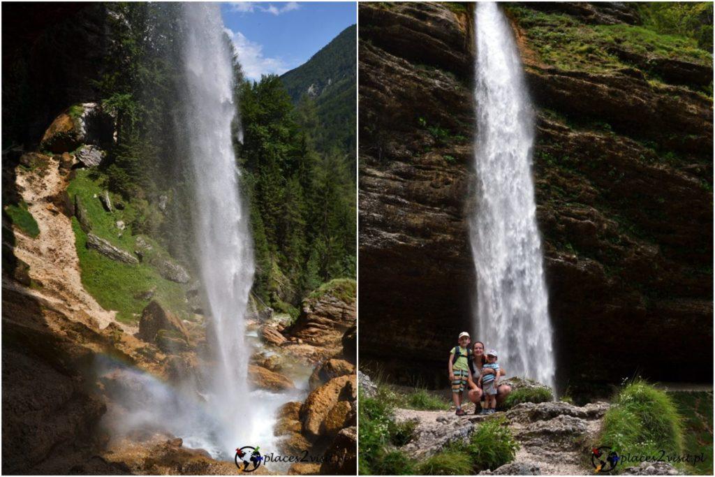 Słowenia co zobaczyć, Wodospad Pericnik