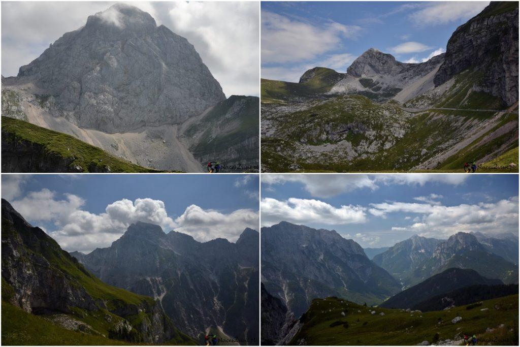 Słowenia co zobaczyć, Droga pod Mangart