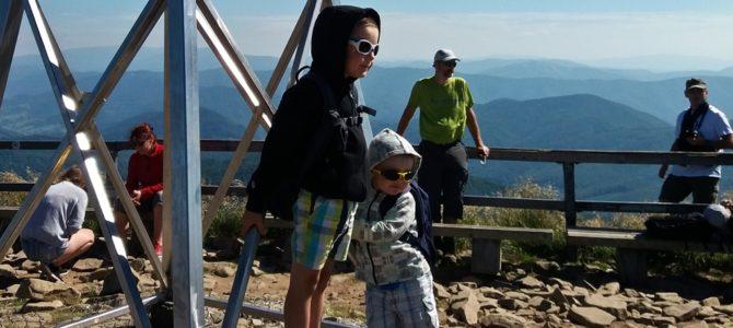 Tarnica – zdobyta przez dzieci