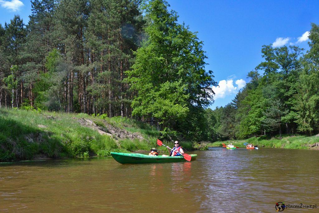 Opolskie - kajaki na rzece Mała Panew