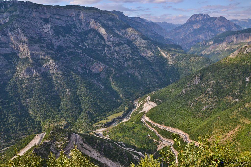 SH 20 - trasa widokowa - Albania