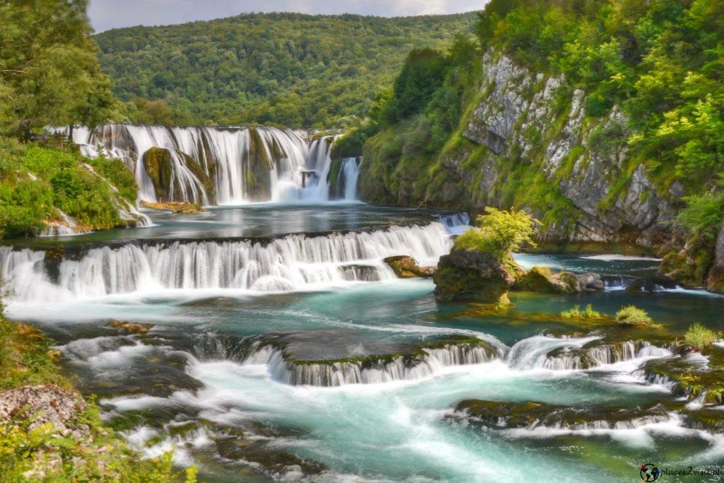 Wodospady Una - Strbacki Buk  Park Narodowy Una