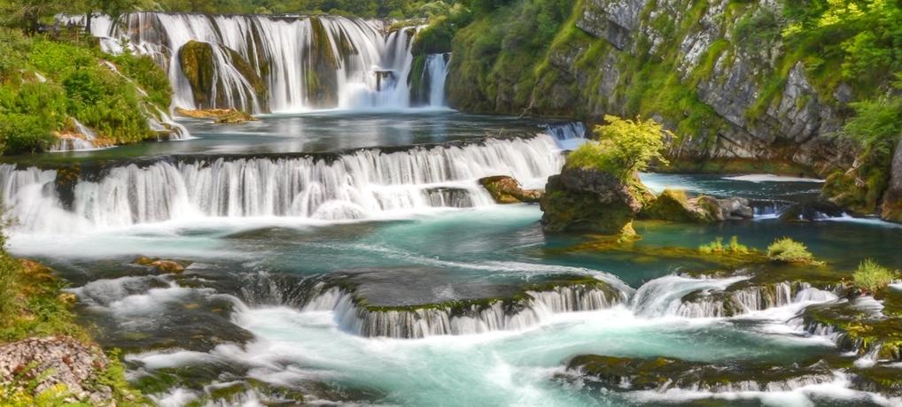 Wodospady Una – najładniejsze w Bośni i Hercegowinie