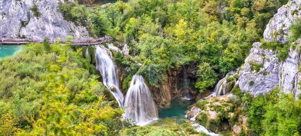 Jeziora Plitvickie – chorwacki cud natury