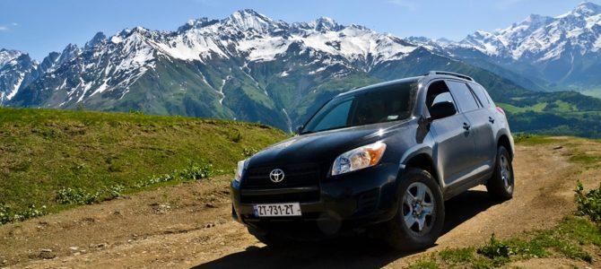 Jak wypożyczyć samochód w Gruzji