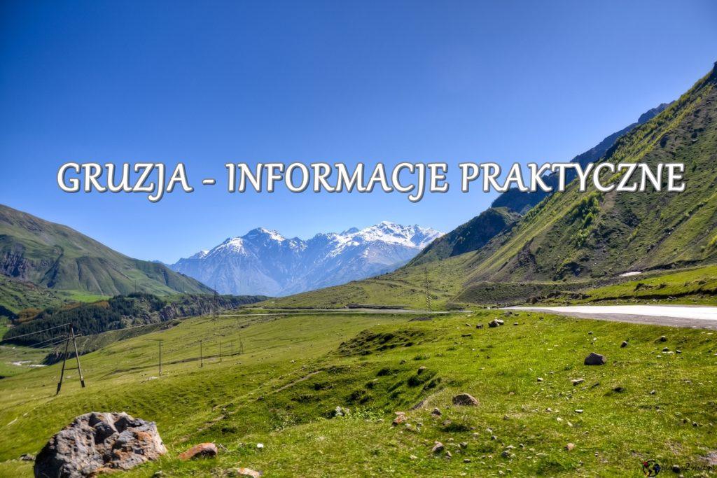 Gruzja informacje praktyczne