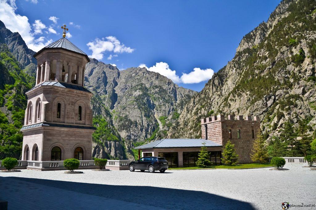 Dariali monastery complex Gruzińska Droga Wojenna
