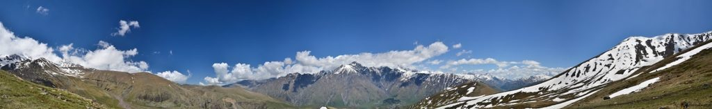 Panorama Kazbek