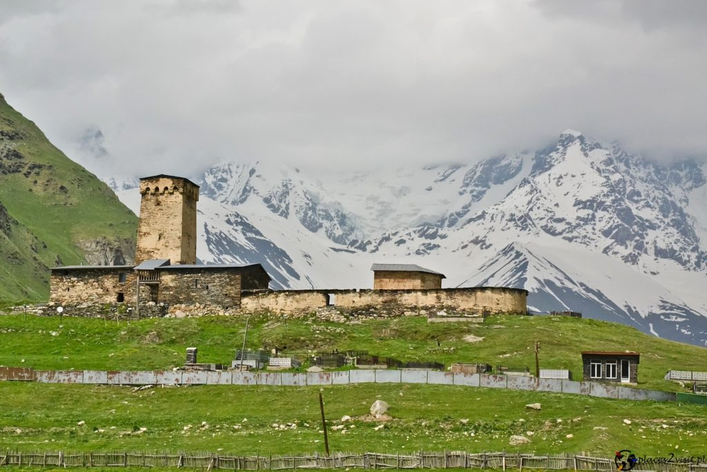 Lamaria Church. Ushguli.