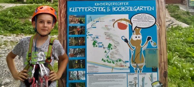 Kindergerechter Klettersteig – via ferrata dla dzieci