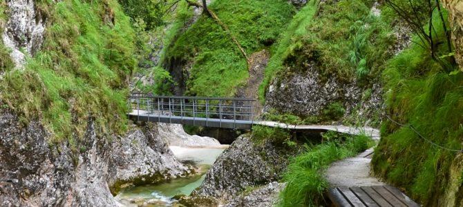 Wąwóz Almbachklamm – Berchtesgaden