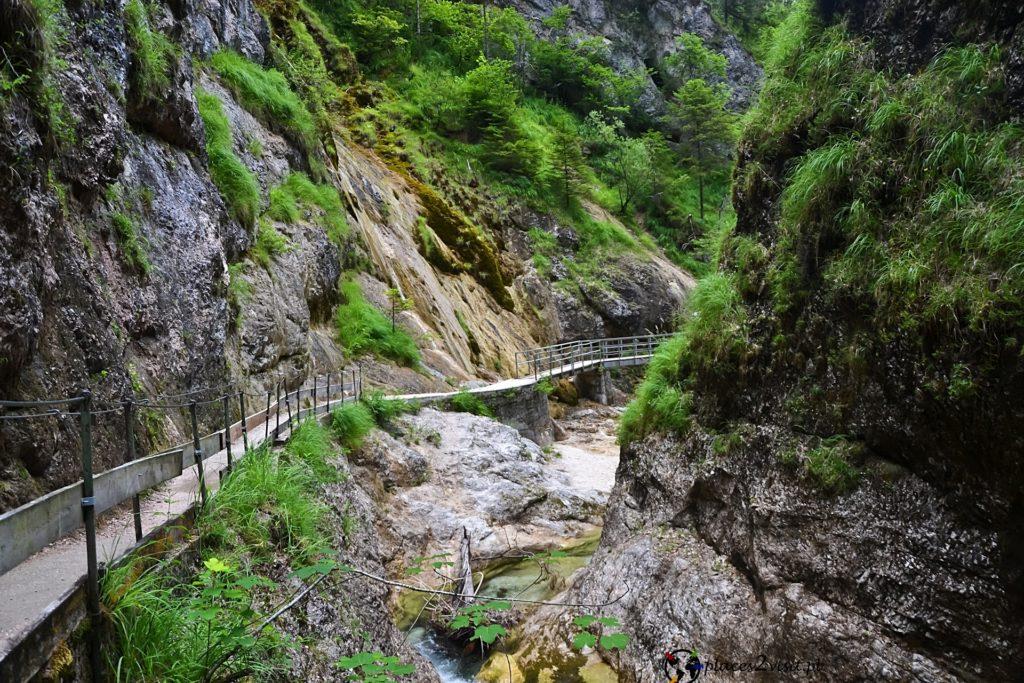Wąwóz Almbachklamm - Berchtesgaden