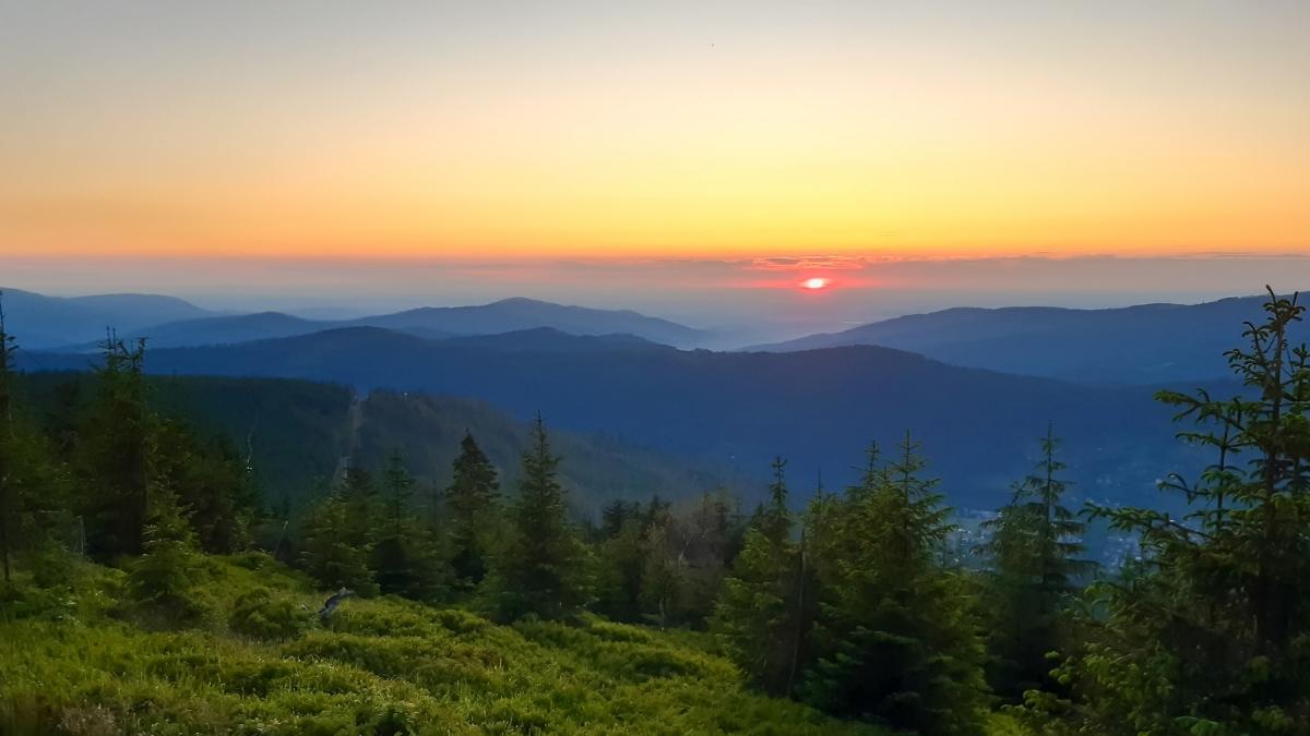 Gdzie na zachód słońca w Beskidzie Śląskim?