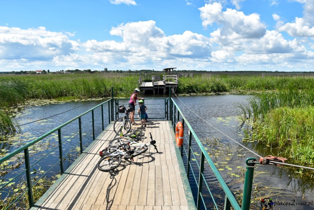 Narwiański Park Narodowy – kładka Śliwno-Waniewo