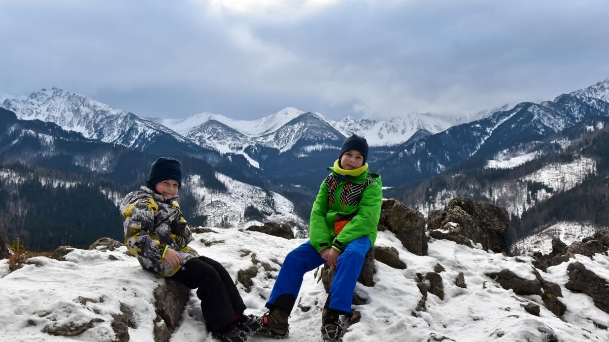 Nosal i Wielki Kopieniec – zimowe Tatry